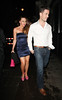 Michelle Heaton and her husband Hugh Hanley leave the May Fair Hotel London, England