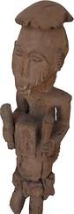 King Oron (Front View) (Art D'Afrique) Tags: africa wood art statue sticks artwork hands king object nigeria objet mains oeuvre bois roi afrique oron mystics bâtons mystiques bibolo