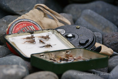 'Copper & Hare' (flyingkiwigirl) Tags: fly fishing father trout nymph reel dps copperhare