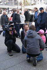 Interviews in all levels... (Steenjep) Tags: cycling herning giro giroditalia cykling giroditalia2012