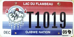 Lac Du Flambeau Ojibwe Nation Truck Flat License Plate (Suko's License Plates) Tags: plaque native indian nation band plate tribal licenseplate license tribe placa patente targa matricula kennzeichen lacduflambeau ojibwe targhe numbertag nummerschild nativeamericanindians plaqueimmatriculation triballicenseplates indiantribeslicenseplates lacduflambeauojibwe