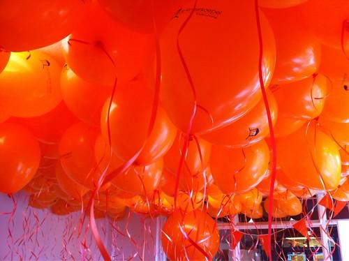 Heliumballonnen Ballonnenplafond Kinderkoepel Hellevoetsluis