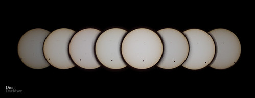 Venus Transit (complete seen from Hawaii)
