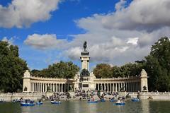 Parque de retiro,Madrid (Never House) Tags: madrid parque espaa de spain retiro blinkagain