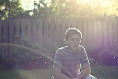Nate (Rachel Kuelbs) Tags: boy photoshop brother cottonwood sunflare cannonrebelxsi