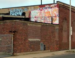 (walknboston) Tags: ma graffiti tag spraypaint awol yuko allston fugue