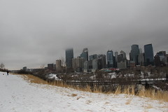Cloudy day in the city (museum98) Tags: calgary downtown calgarydowntown bowtower