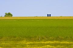 Minimalistic Field with Silo (Jeff Cushner) Tags: field silo lancastercounty minimalisticlandscape