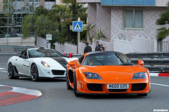 Climbing the city (AK AutoMotive) Tags: top ferrari monaco marques supercar 2012 noble stallone combo 599 mansory m600