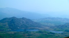Cregennen Lakes from Braich Ddu, Cader Idris