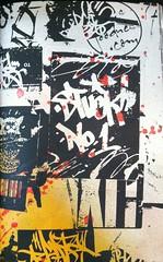 Stuck#1 (Underdestruction) Tags: nyc ny newyork graffiti stickerart alone handmade graf stickers labels carnage postal minus handstyles slaps nycstickers namebadge handstyle baser underdestruction label228 crasty sabeth718 hadone nyctags grafstickers nychandstyles postal228