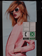 P1010767-1 Emergency? (Lawrence Holmes.) Tags: uk west sunglasses poster lens lumix yorkshire leeds advert g2 24mm nikkor f28 ais 48mm eqiv