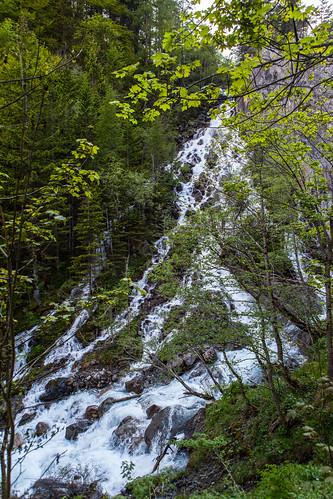 Doppel Wasserfall
