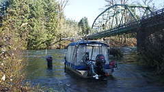 """McKenzie RIver Sweep Sonar Survey • <a style=""""font-size:0.8em;"""" href=""""http://www.flickr.com/photos/79643336@N05/7301667574/"""" target=""""_blank"""">View on Flickr</a>"""