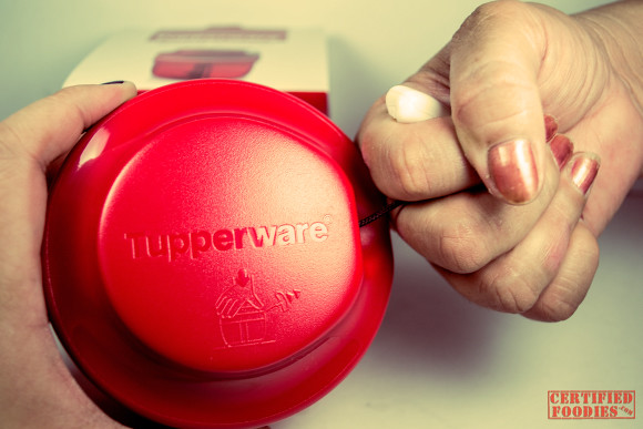 Tupperware Speedy Chopper - it's easy to use