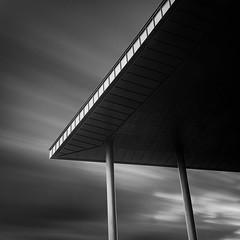 Composition 3 (warmianaturalnie) Tags: city roof white black architecture composition square long exposure hitech prostop