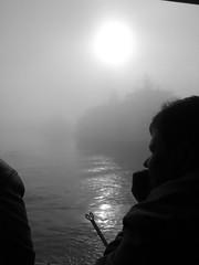 Port of Split in Fog (Flicky 90) Tags: fog split port harbour ship