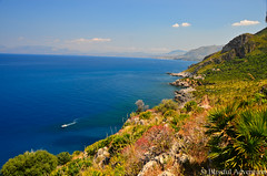 "Hiking Trails and Boat -  Lo Zingaro, Sicily • <a style=""font-size:0.8em;"" href=""http://www.flickr.com/photos/40100768@N02/7362046656/"" target=""_blank"">View on Flickr</a>"