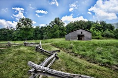 Cades Cove, Smoky Mountains (2) (ruffingjd) Tags: mountains canon cove tennessee smoky canondslr topaz adjust cades cokin 1740lf4 121s flickraward 5dmarkii