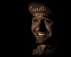 Castelli (23/100) (TNrick) Tags: portrait monochrome bike race cincinnati lowkey castelli topaz aultpark 100strangers