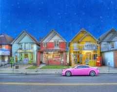 Bail Bond Boulevard (Cat Girl 007) Tags: street city fairytale colorado colorful denver handpainted brushes nostalgic magical hdr bountyhunter bailbond contemporaryartsociety delawarest artistictreasurechest magicunicornverybest artcityart moonseclipsegallery24