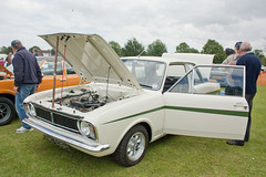 1970 Lotus Ford Cortina Mk2 (Trigger's Retro Road Tests!) Tags: show classic ford cortina car lotus retro vehicle mk2 1970 essex 2012 lawford revival manningtree