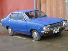 1974 Datsun 120Y (GoldScotland71) Tags: 1974 sunny 1970s datsun 120y wvl473m