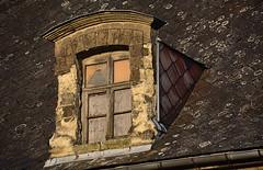 Chroniques Marchiennes (13) (Jean-Luc Lopoldi) Tags: roof sunshine evening decay dessin soir toit derelict abandonn chienassis