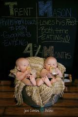 Twins 4 Months 12 (jess.cumbie) Tags: twinboys twinsphotography jacksonvillefamilyphotography