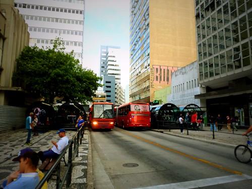 Centre-ville de Curitiba, Brésil