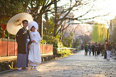 .  DSC_7441 (Ming - chun ( very busy )) Tags: street travel light sunset girl beautiful beauty japan lady cherry groom bride nikon women kyoto