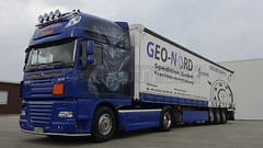 D - Transport-Service Banduch >Geo-Nord> DAF XF 105 SSC >> Joker << (BonsaiTruck) Tags: transport service 105 airbrush ssc daf haltern xf geonord banduch