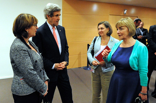 Meet the New People.  Same as the Old People. Secretary Kerry, Assistant Secretary Nuland Meet With Foreign Ministers in Brussels, From FlickrPhotos