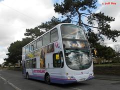 LK53LZW (jeff.day48) Tags: volvo 49 wright gemini parkroad southgloucestershire staplehill 32357 b7tl firstbristolavon firstwestofengland lk53lzw