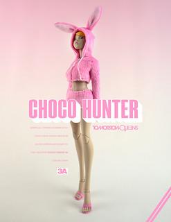 緊急發售!threeA 推出復活節限定紀念商品「Choco Hunter TQ」