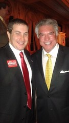 Congressional candidate Joe Kaufman with ACU Chairman Al Cardenas