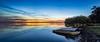 Evening (Torkn2U) Tags: sunset panorama lake water dusk belmont pano jetty australia wharf nsw newsouthwales lakemacquarie squidsink