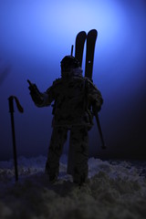 Night in the Arctic (tabletopman) Tags: scale action joe arctic figure gi 118