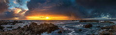 The Sunset (Darvin Atkeson) Tags: ocean california sunset sea panorama seascape color beach point landscape bay monterey seaside surf pacific large montereybay massive huge pacificgrove pinos darvin atkeson darv liquidmoonlightcom lynneal