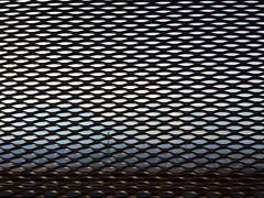 2016-05-01 03.32.35 (nickbruce483) Tags: sky colors metal fence chains eiffeltower eiffel hiding montparnasse eiffelview
