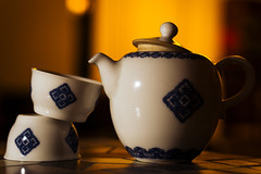 It's Always Teatime (samuelyangimm) Tags: warm tea bokeh object flash dramatic clean oriental product