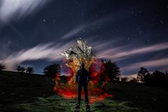 Apariciones en Urbasa (fotoneoo) Tags: longexposure light lightpainting luz canon stars landscape nocturnal paisaje estrellas nocturna navarra lightart apariciones largaexposicion urbasa flickraward flickrestrellas fotoneoo aitorabadia