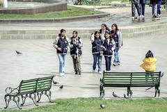 Peru : Cuzco #10 (foto_morgana) Tags: people peru southamerica cuzco children outdoor nikoncoolscan analogphotography plazadearmas analogefotografie vuescan travelexperience photographieanalogue