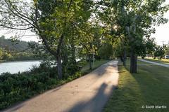 IMG_9105 (Scott Martin Calgary) Tags: ca sunset canada calgary shadows alberta bowriver