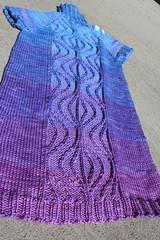 Snow Princess Tunic 2 (peridragon) Tags: knitting gradient ravelry gradiance snowprincesstunic