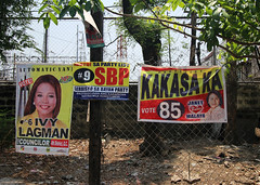 elections 2016 campaign signs 21 (_gem_) Tags: street city urban sign typography words text philippines politicians signage manila type metromanila politicianssigns elections2016