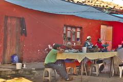 Breakfast by the market (Juan Manuel Bautista Hoepfner) Tags: architecture breakfast mexico arquitectura nikon market mercado vernacular puebla desayuno d3200 pahuatlan verncula