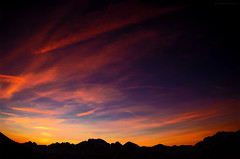 Return to Cold Mountain (giovanni_spina) Tags: sunset red orange mountain alps nature twilight tramonto sofia glacier wilderness dolomiti marmolada mountainscape