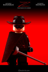 The Mask of Zorro (kosbrick) Tags: lego mask contest may competition minifig zorro challenge minifigure moc 2016 maynifigure