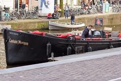_MG_10218 (Thomas Breus) Tags: holland amsterdam boat canal bikes captainmorgan